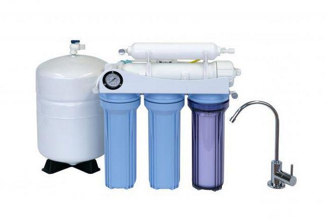 filtrarea apei