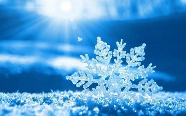 îngheț de zăpadă