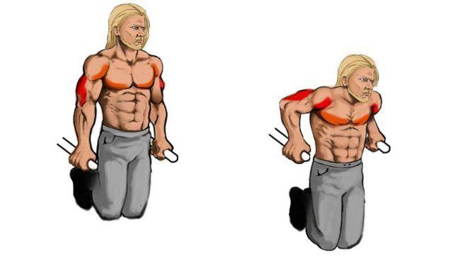Înapoi-push-up-uri: tehnica de execuție, beneficii