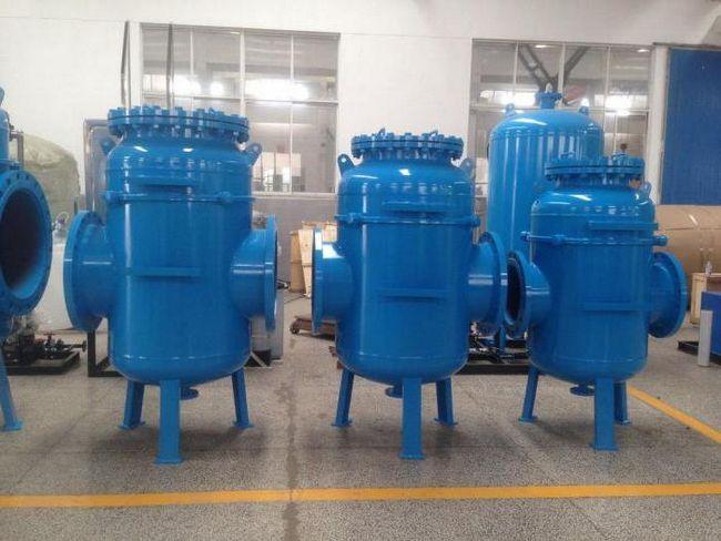 filtre de curățare mecanică, industriale