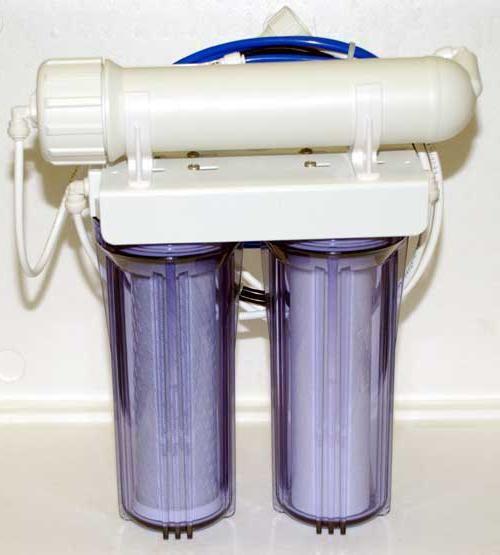 purificarea apei din prețul fierului