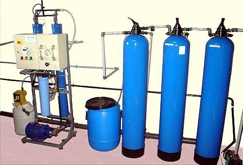 sistem de purificare a apei din fier
