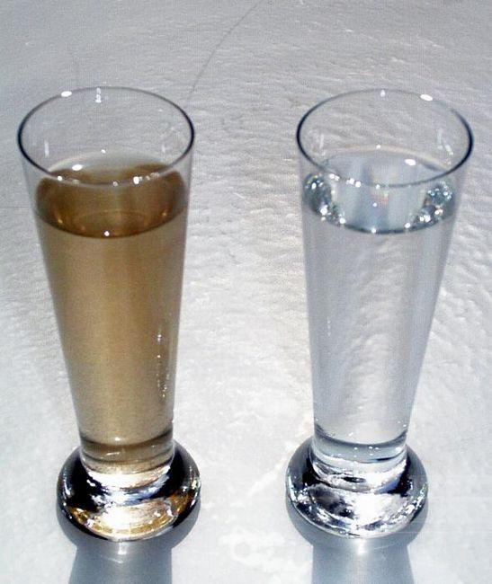 metode de purificare a apei din fier