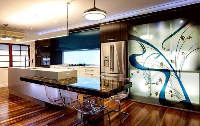 decorarea pereților bucătăriei