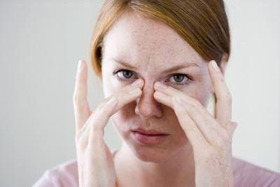 paranasal sinus Foto