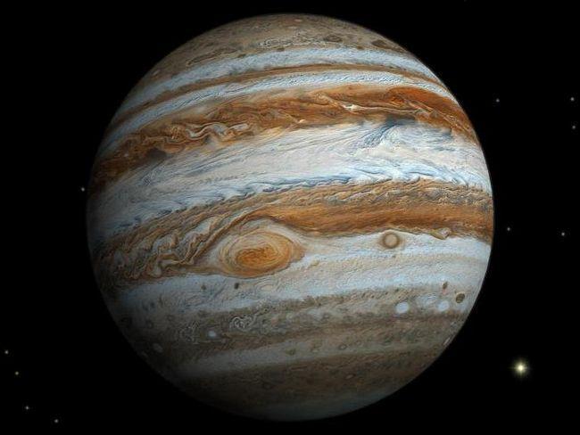 dimensiunile lui Jupiter