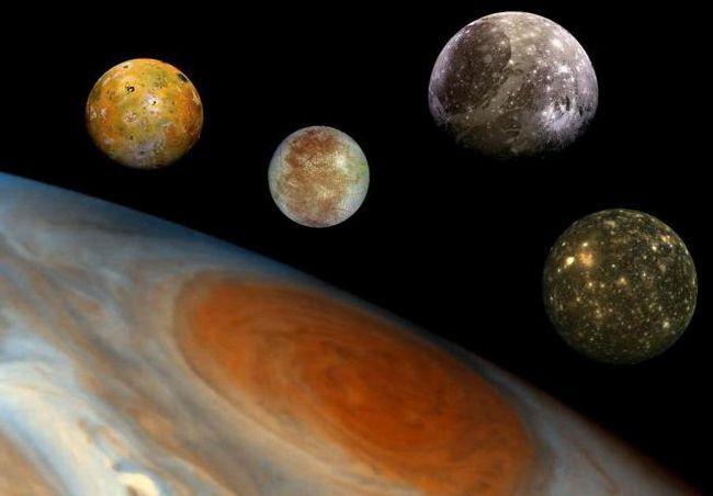 Al doilea satelit cel mai mare de la Jupiter