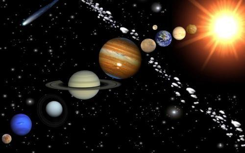 Cureaua de asteroizi se află între