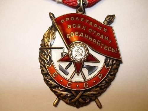Ordinul Bannerului Roșu: istoria premiului