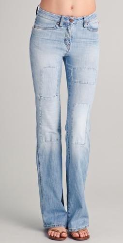 Patch-ul original pe blugi pantaloni da noua ta viață