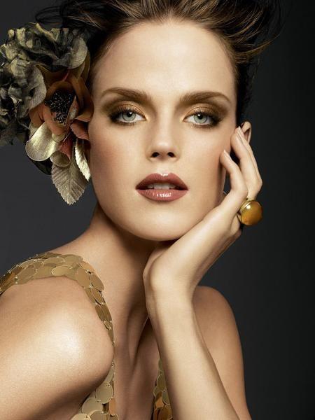 toamna make-up fotografie