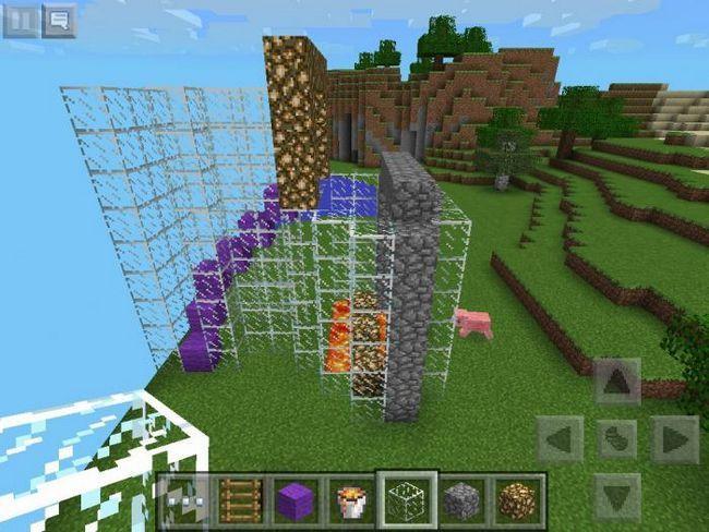 Echipa de privatizare a teritoriului în Minecraft