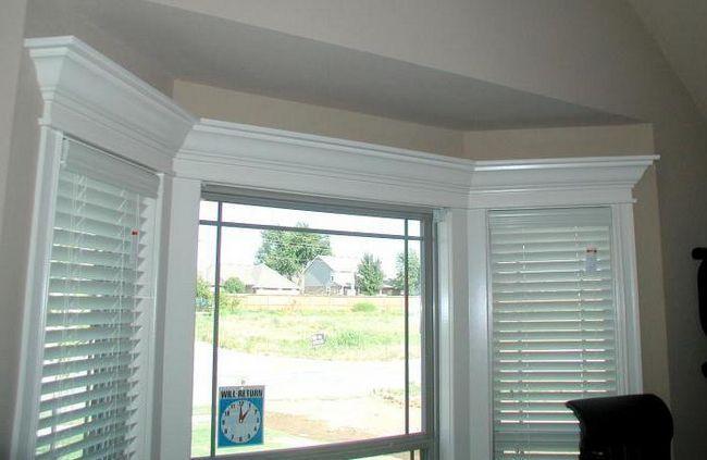 finisarea pantelor de fereastra din interior
