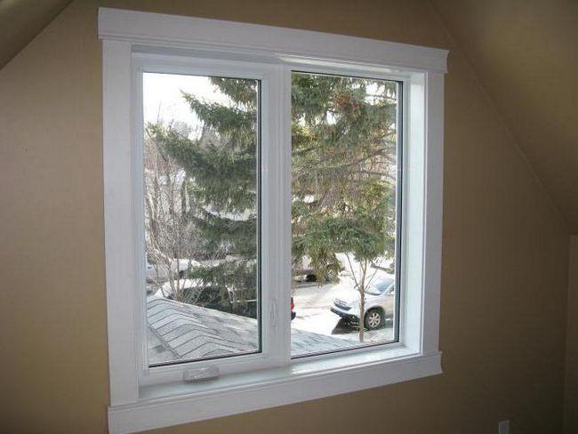 decorarea pantelor ferestrelor din plastic