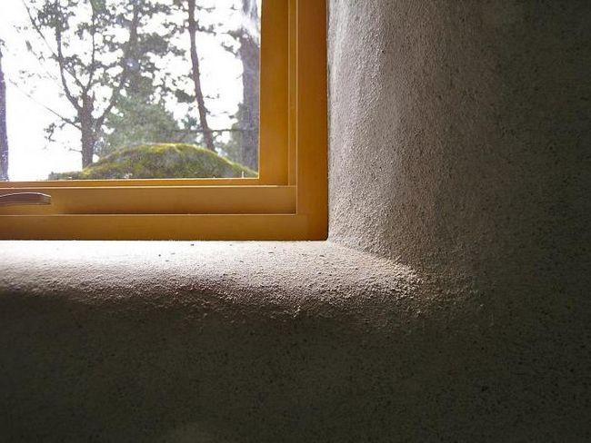 finisarea pantelor ferestrelor cu mâinile tale