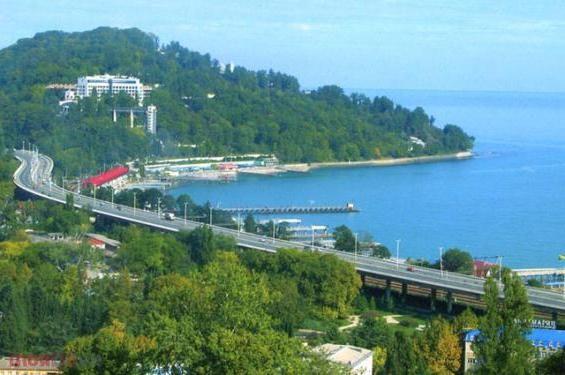 Se odihnește pe Marea Neagră: Obiectivele lui Adler