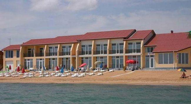 Hotel în Feodosia pe plajă