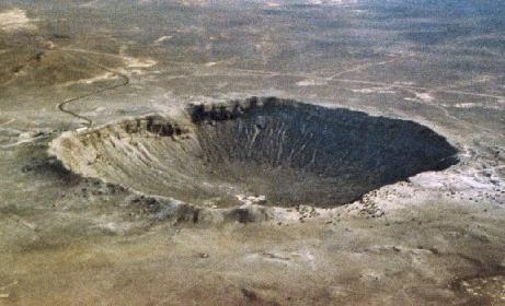 meteoritul în Statele Unite