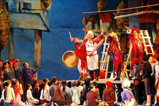 «Паяцы» опера краткое содержание и актеры