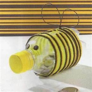 albine din sticle de plastic