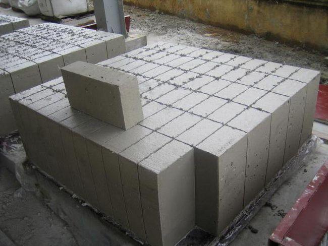 blocuri de spumă de cărămidă