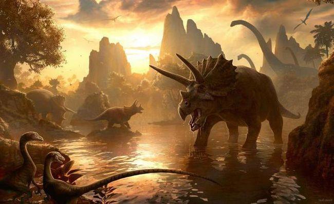dezvoltarea vieții în perioada mezozoică