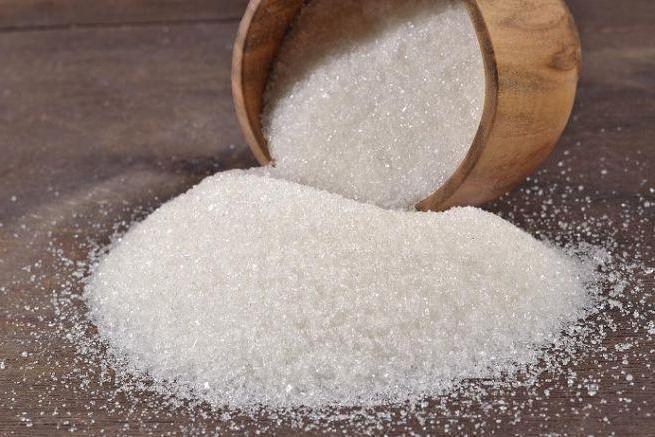 tipuri de zahăr