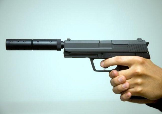 Pistol cu un zgomot - arme moderne