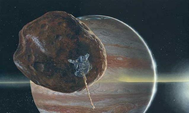 inelele lui Jupiter și Saturn