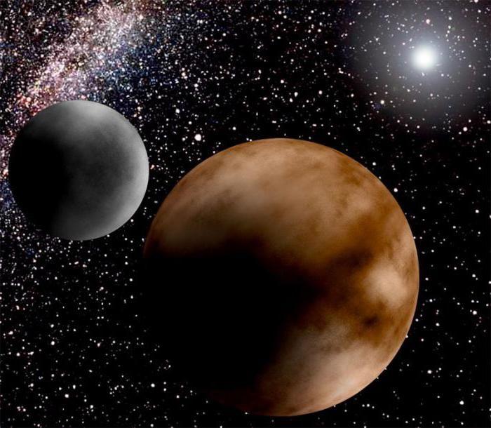 planeta pluto și satelitul haron