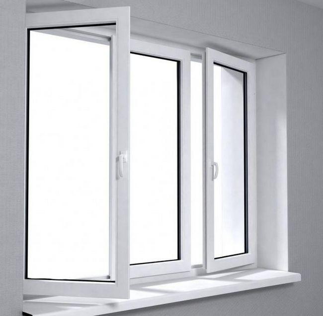 Finisarea pantelor de ferestre din plastic