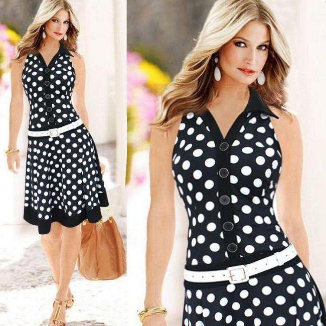 rochie cu un model de talie joasa