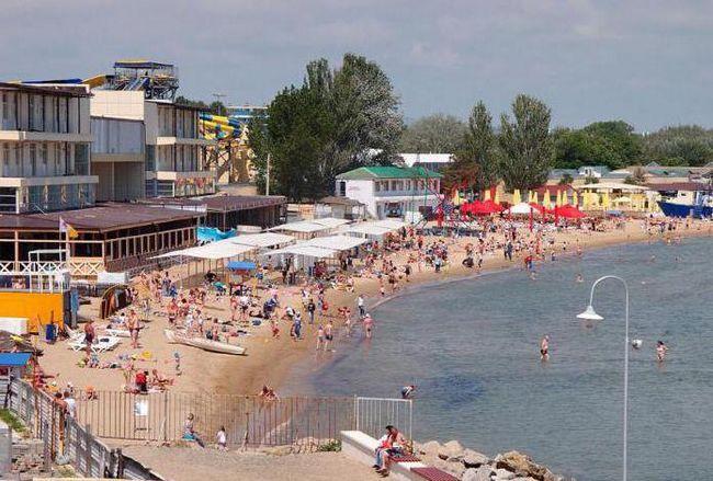 Anapa centrală de plajă