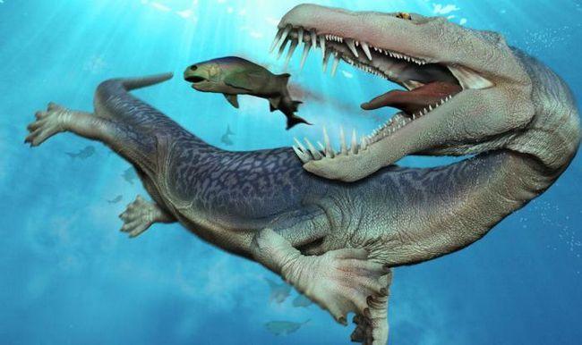 tipuri de dinozauri plutitoare