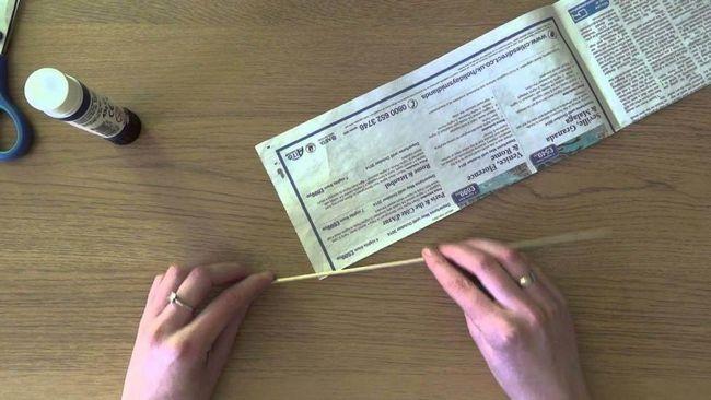 Țesut din ziare pentru începători