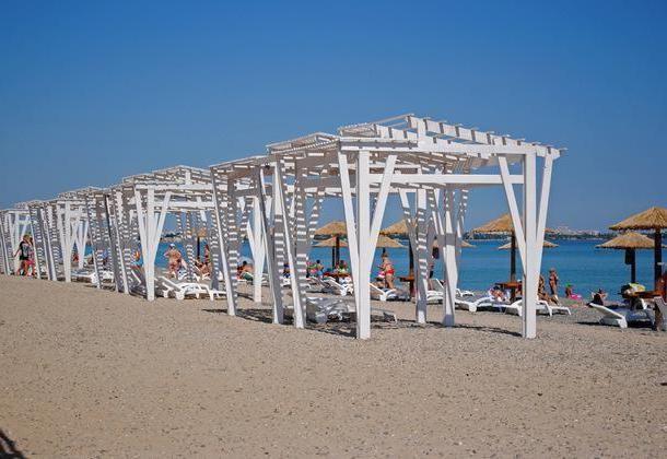 plaja de nisip auriu Evpatoria