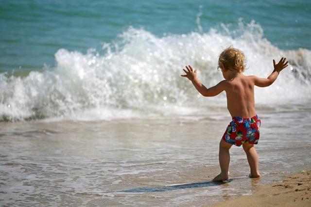 Evpatoria plaja de nisipuri de aur fotografie