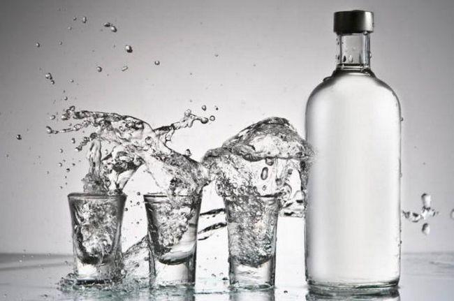 vodka densitate