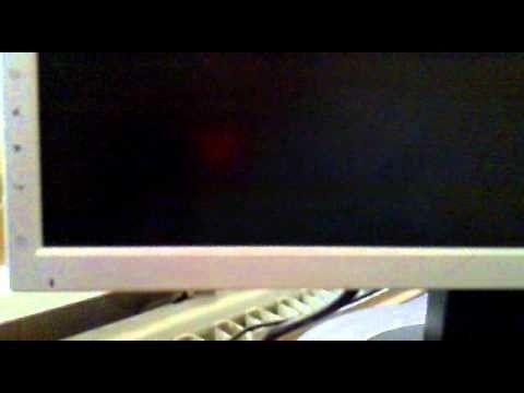 De ce monitorul este gol