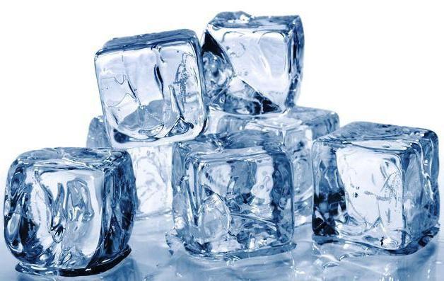 de ce gheața nu se scufunda în apă și în chiuvetele de benzină și kerosen