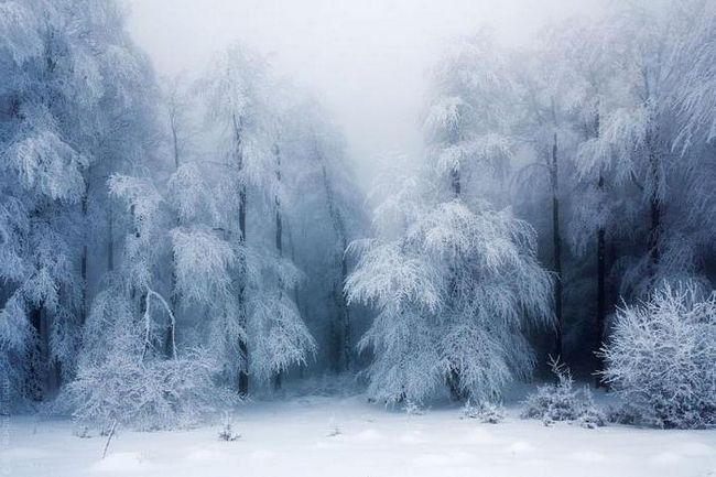 iarna este rece în vara fierbinte