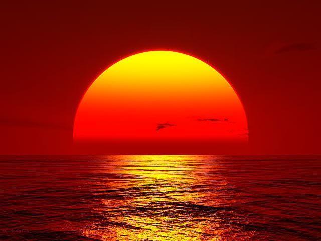 Noaptea este întunecată deoarece soarele trece dincolo de orizont