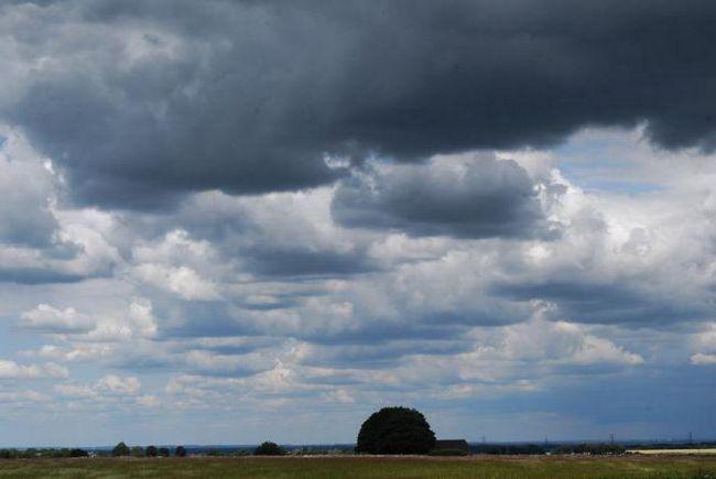 cerul înnorat