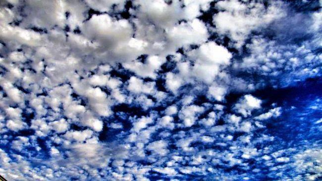 o descriere a cerului acoperit de nori