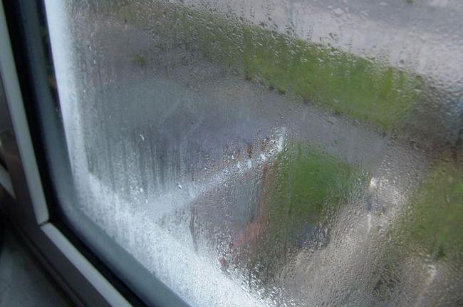 ceață ferestre din plastic