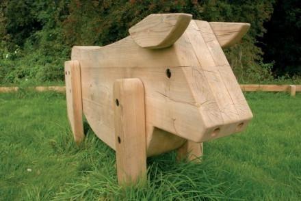 Mese din lemn pentru grădiniță.
