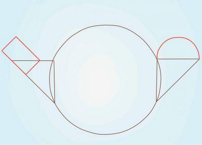cum să desenezi un fierbător în creion pas cu pas