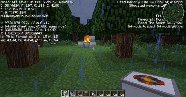cum să opriți ploaia în minecraft