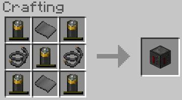 cum să construiască o baterie în minecraft