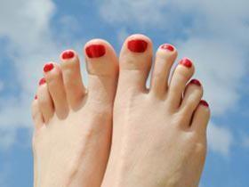 furnicaturi ale degetelor de la picioare